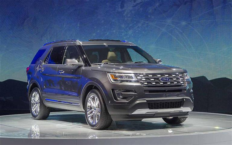 2020 Ford Explorer - Best SUV With 3rd Row Seating
