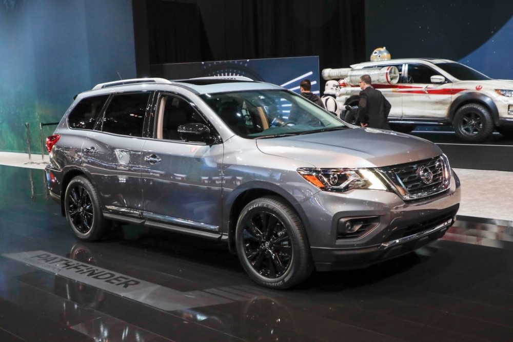 2020 Nissan Pathfinder Platinum Exterior Changes