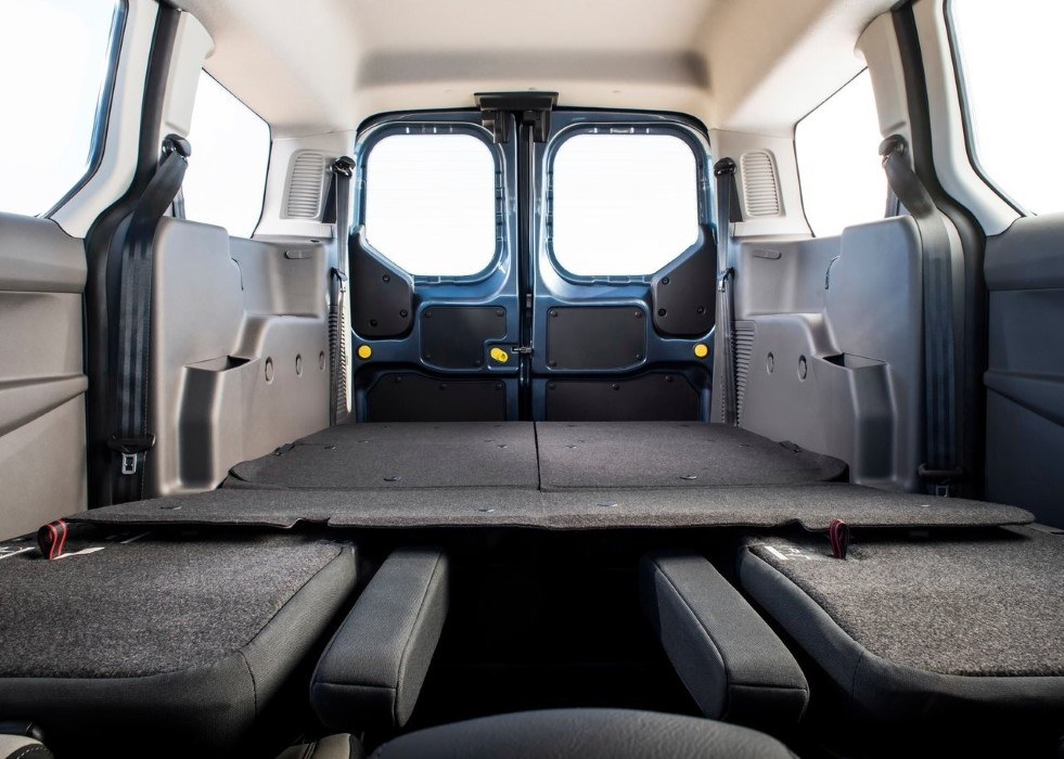 2020 Ford Transit Connect Cargo Space