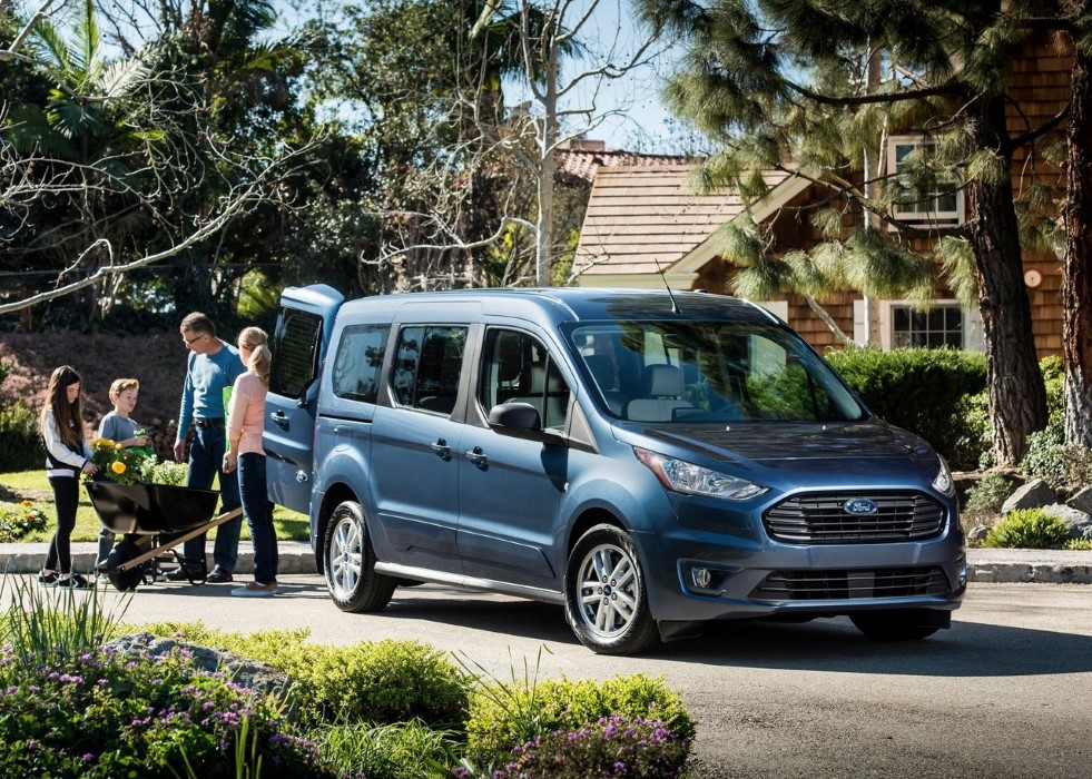 2020 Ford Transit Connect Facelift Exterior