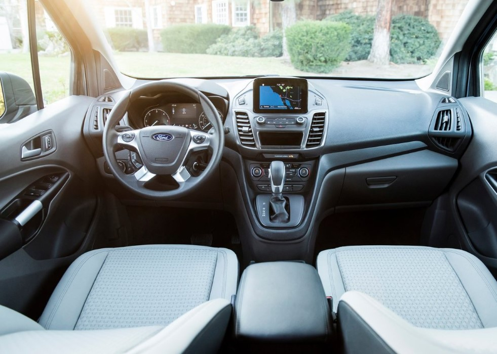 2020 Ford Transit Connect Van Interior Changes