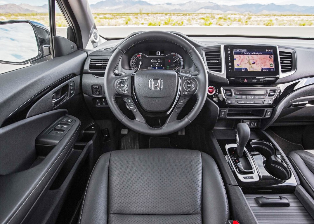 2020 Honda Ridgeline Interior Changes & Update Features