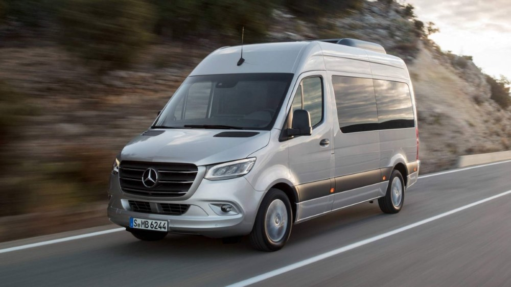 2020 Mercedes Sprinter Electric Van Passenger