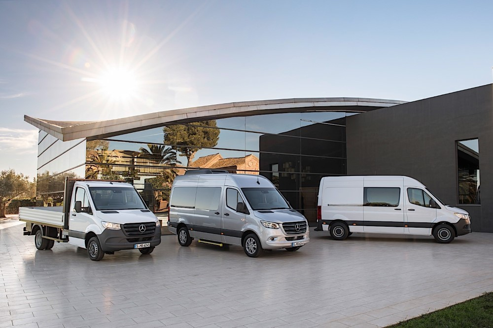 2020 Mercedes Sprinter Van Cargo Model Trims