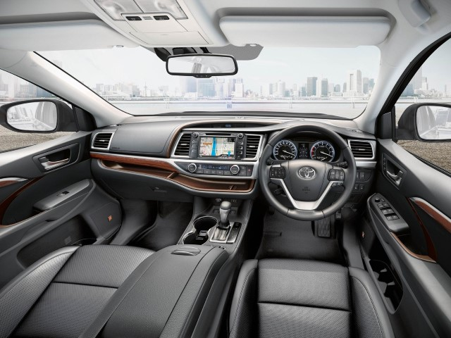 2020 Toyota Highlander Interior Concept Styling