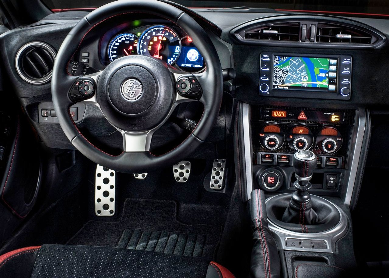 2020 Toyota 86 Interior Features