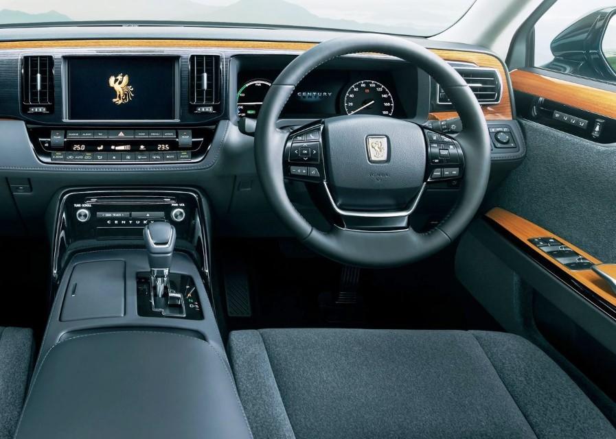 2020 Toyota Century Interior & Features