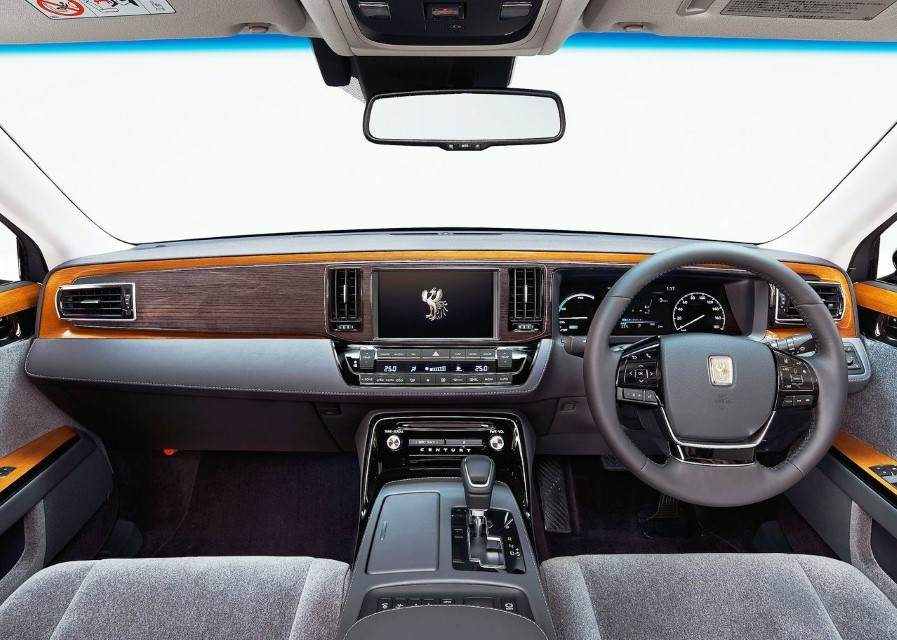 2020 Toyota Century Safety Features