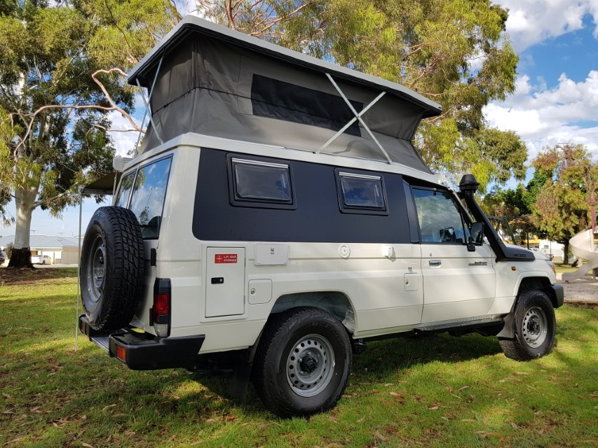 Toyota Landcruiser Troopcarrier For Camper Conversion