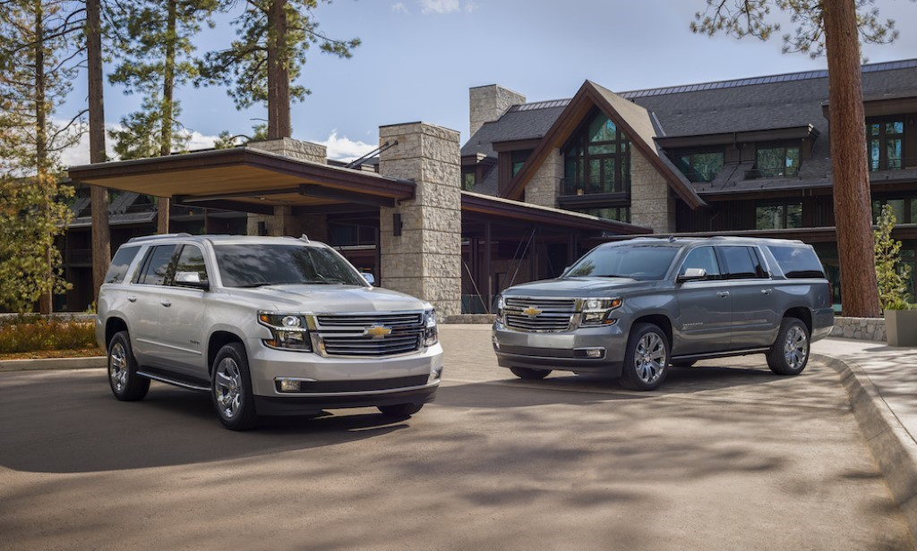 2020 Chevrolet Suburban - Best SUVs For 3 Car Seat