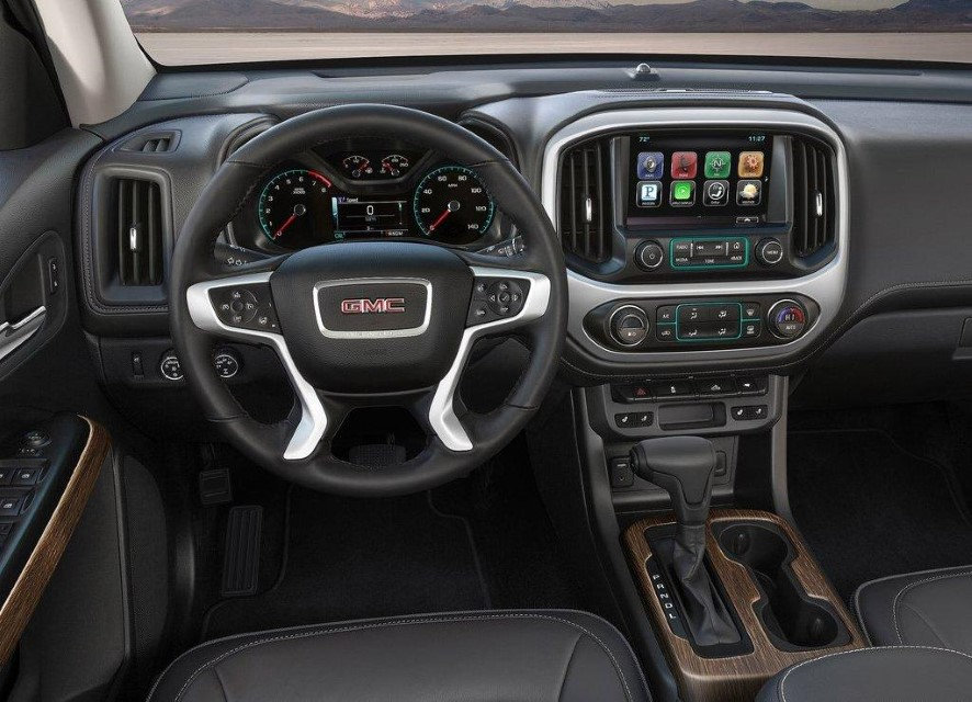 2020 GMC Canyon Diesel Interior New Features