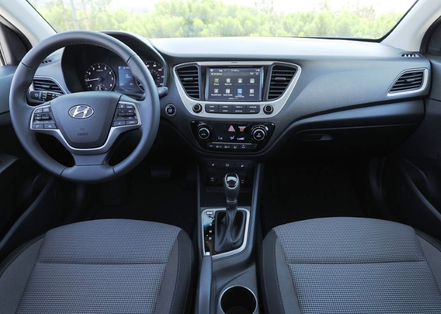 2020 Hyundai Accent Interior Changes