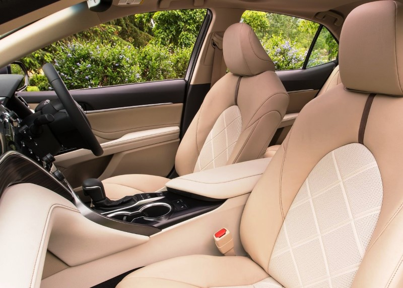 2020 Toyota Camry Full Loaded Interior Capacity