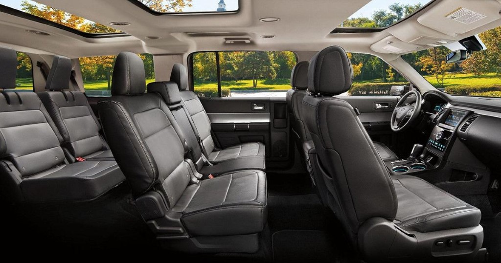 New Ford Flex Interior For Familly Van