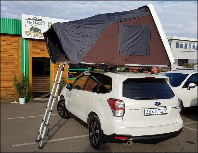 Subaru Forester Roof tent Camper - Best For Solo Camping