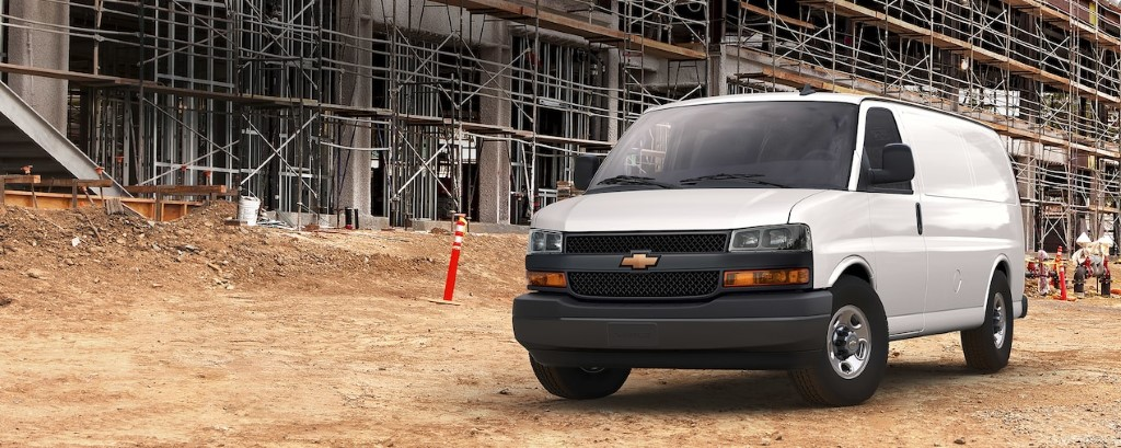 2020 Chevy Express Dimensions