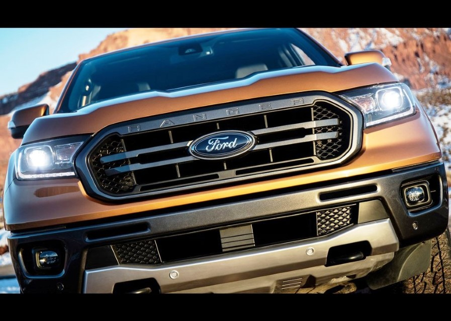 2020 Ford Ranger Pickup Model Range