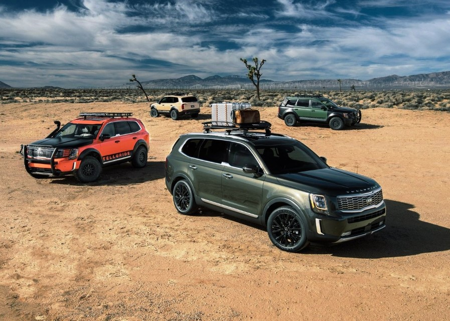 2020 KIA Telluride SUV Review - Biggest KIAs SUV
