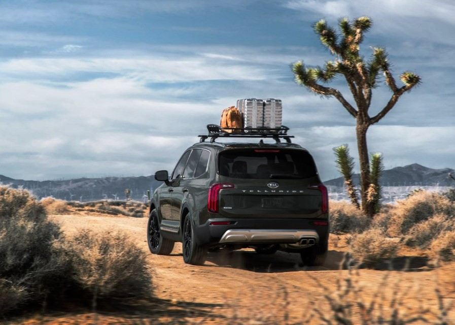 2020 KIA Telluride Towing Capacity