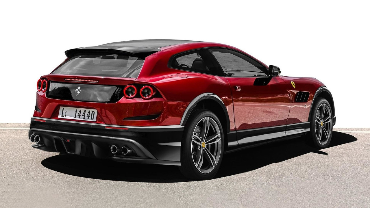 2020 Ferrari Purosangue SUV New Pictures