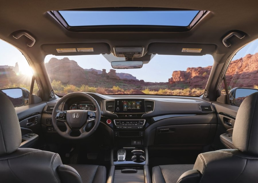 2020 Honda Passport Interior Pictures