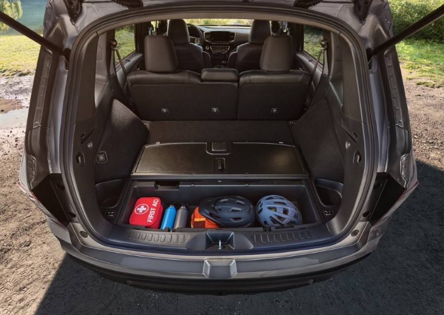 2020 Honda Passport Trunk Capacity