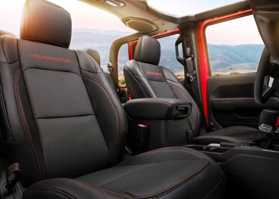 2020 Jeep Gladiator Interior Capacity