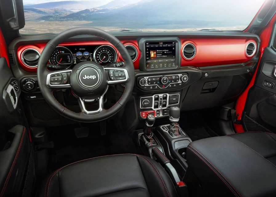 2020 Jeep Gladiator Interior Features