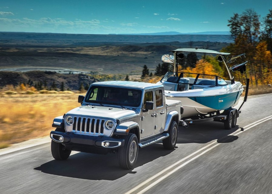 2020 Jeep Gladiator Towing Capacity