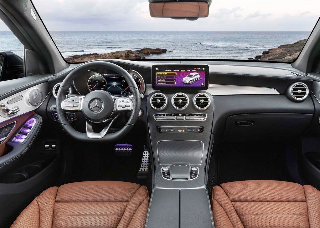2020 Mercedes-Benz GLC 300 AMG Interior