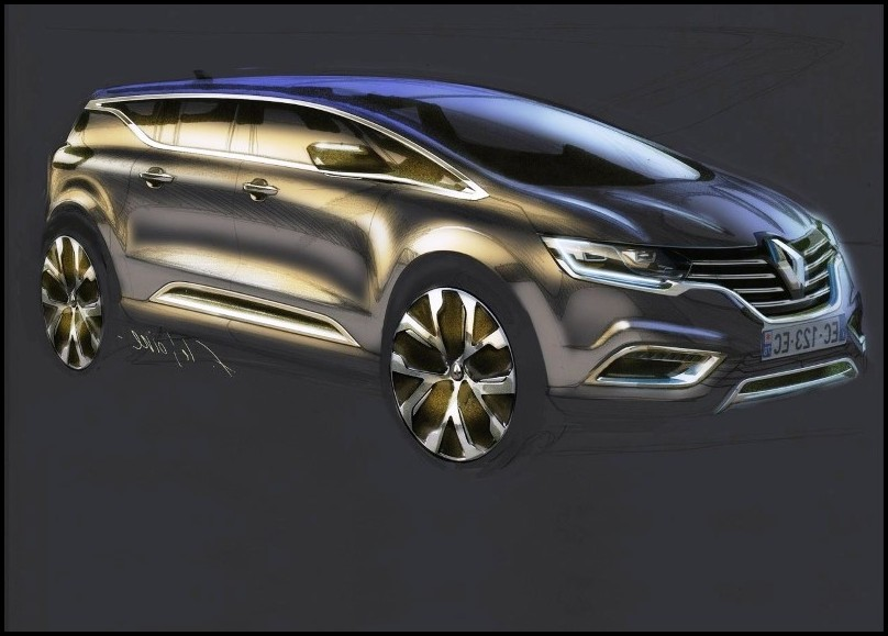 2020 Renault Espace Concept design & restyling