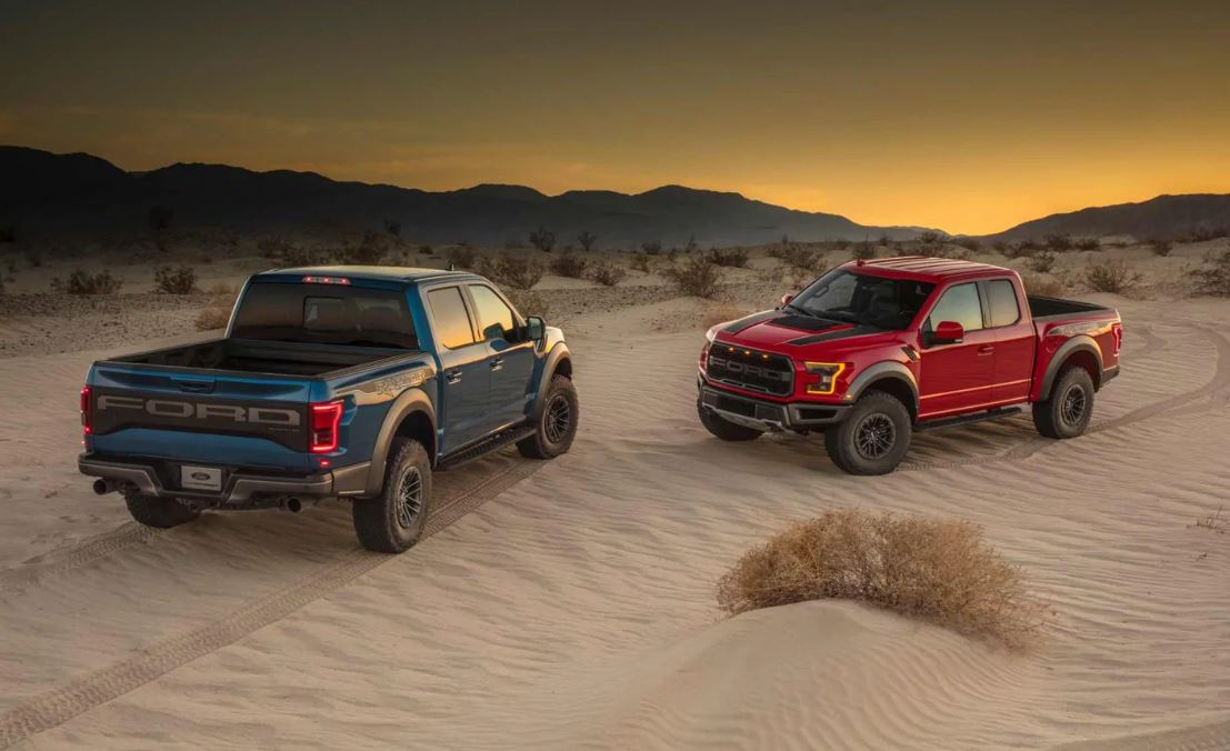 2020 Ford F-150 Raptor Colors