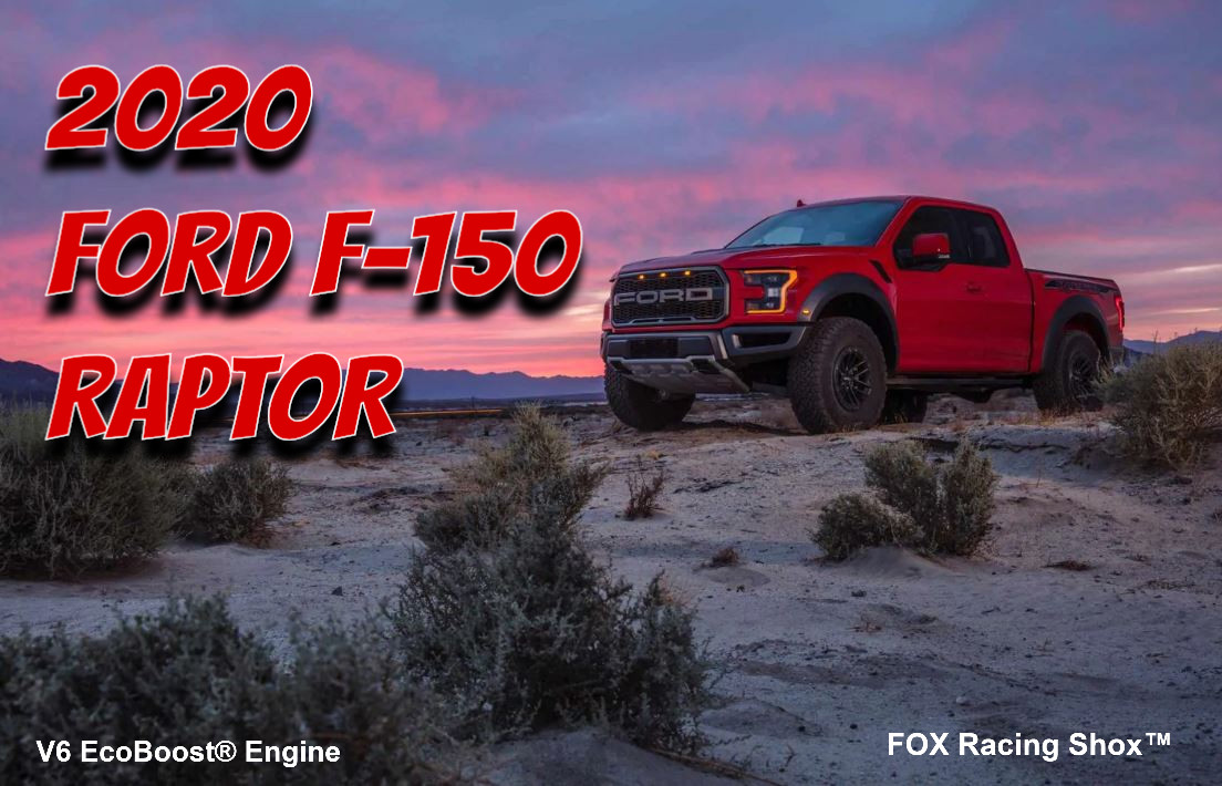 2020 Ford F-150 Raptor Price & Lease