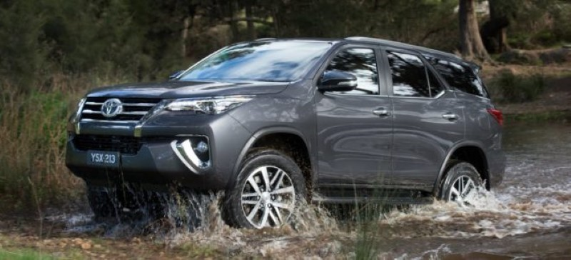 2020 Toyota Fortuner 4X4 Performance