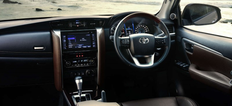 2020 Toyota Fortuner Facelift Interior Updates