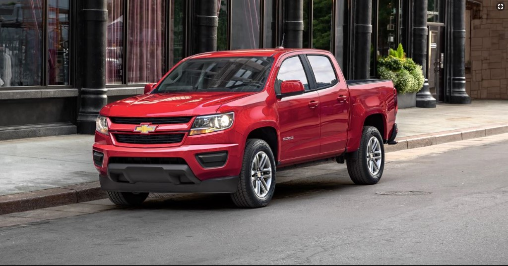 2020 Chevy Colorado Redesign & Changes