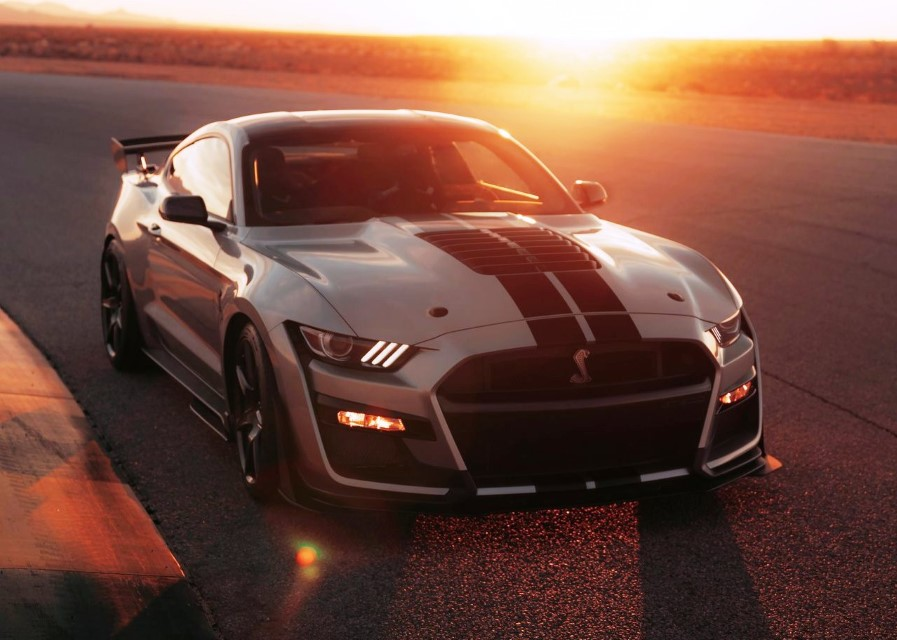 2020 Ford Mustang Shelby GT500 0-60
