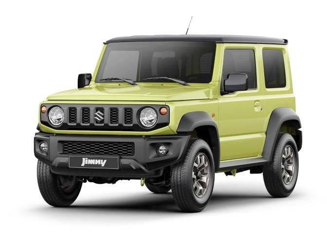 2020 Suzuki Jimny Colors & Trims