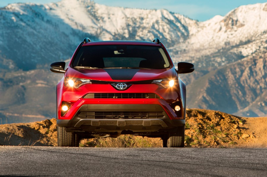 2019 Toyota RAV4 Adventure Hybrid Engine