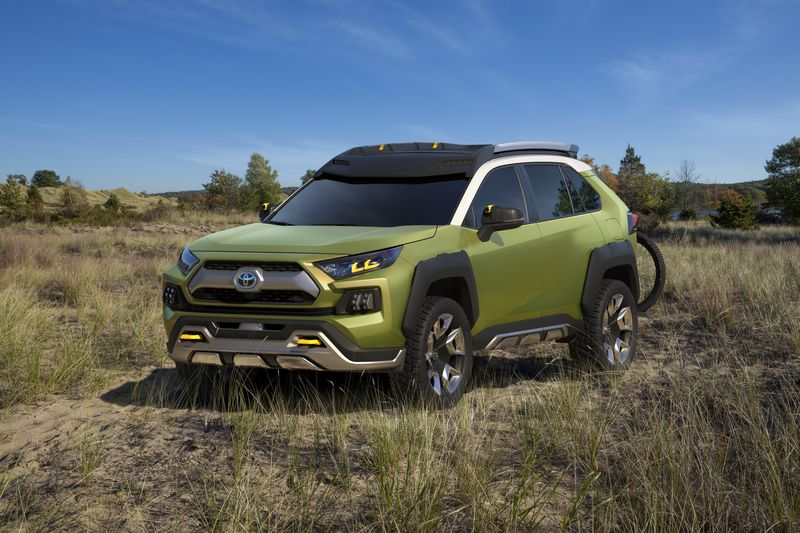 2019 Toyota RAV4 Redesign - More aggressive style