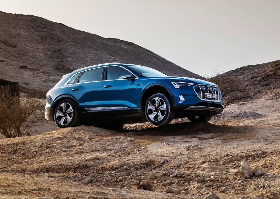 2020 Audi E-Tron SUV Off-Road Review