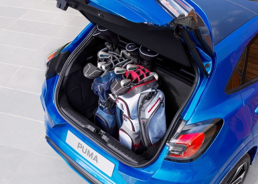 2020 Ford Puma Trunk Capacity
