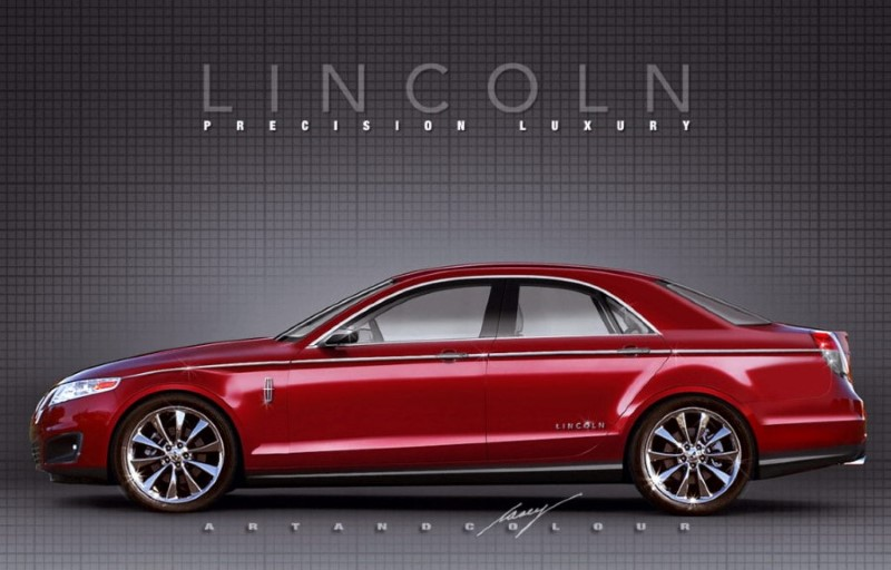 2020 Lincoln Town Car Concept Pictures