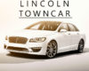 2020 Lincoln Town Car Pictures