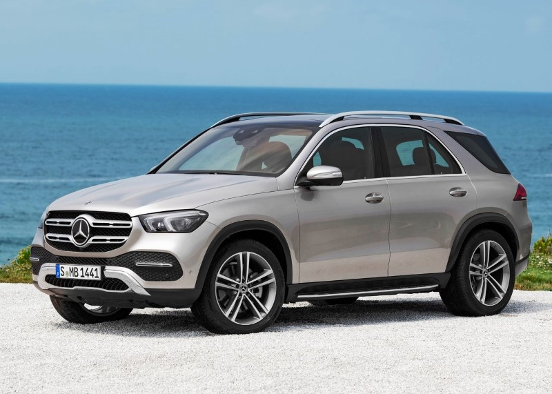 2020 Mercedes GLE Dimensions & Weight