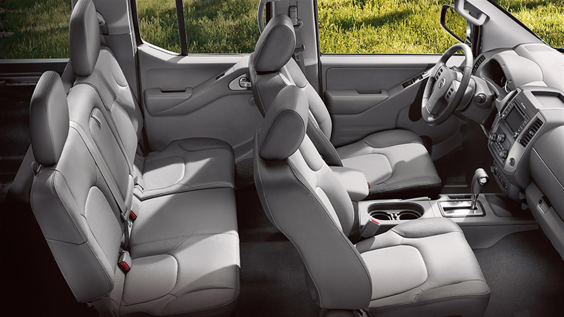 2020 Nissan Frontier Redesigned Interior Capacity
