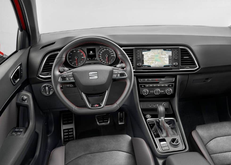 2020 Seat Ateca TGI Interior Features