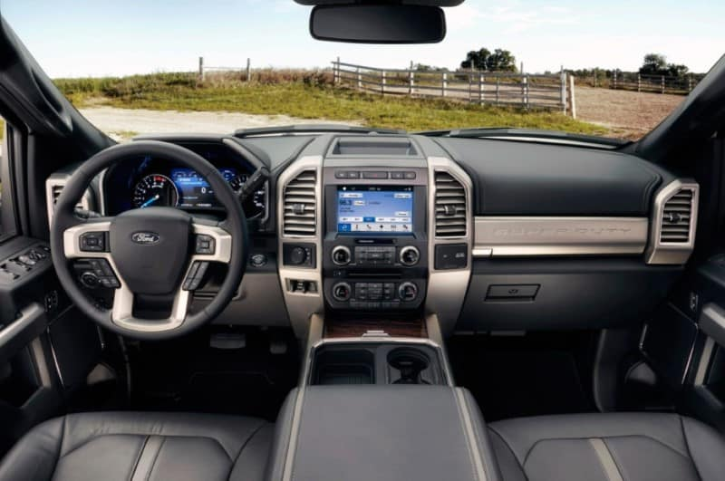 Ford F350 Interior Images