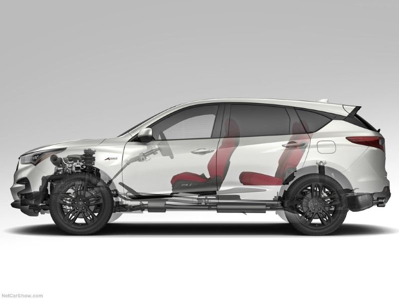 2020 Acura RDX Layout Concept design