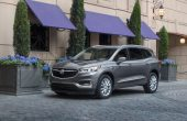 2020 Buick Enclave Grey Color Front and Side Angle